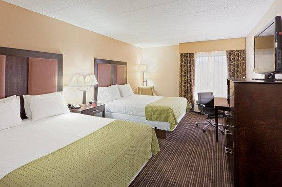 Holiday Inn Express Charleston / Southridge: Queen Bed Guest Room