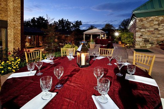 Blacksburg, Virginie : Our outdoor patio for special events