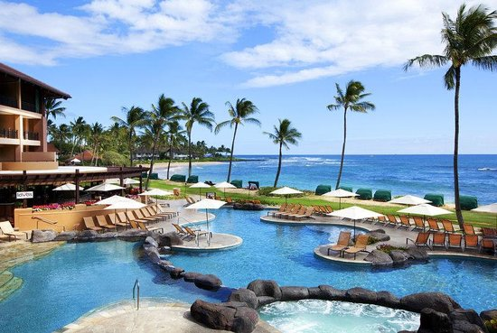 ‪‪Sheraton Kauai Resort‬: Ocean Pool‬
