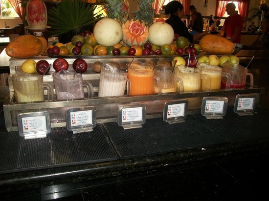 Ocean Maya Royale: smoothies