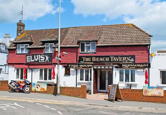 Pevensey Bay Beach Cafe Pevensey Bay Beach England