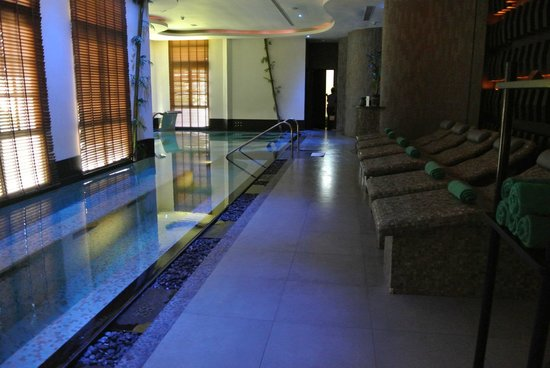 บันยันทรี สมุย: Vitality pool in the Rainforest Spa & hot stone beds