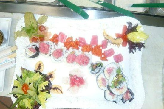 Oquossoc, ME: Sushi and Sashimi - Available Friday Nights all Summer
