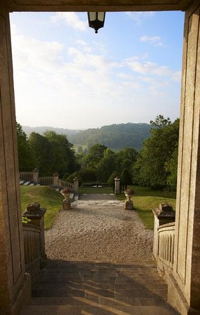 Monkton Combe, UK: Combe Manor Foyer View