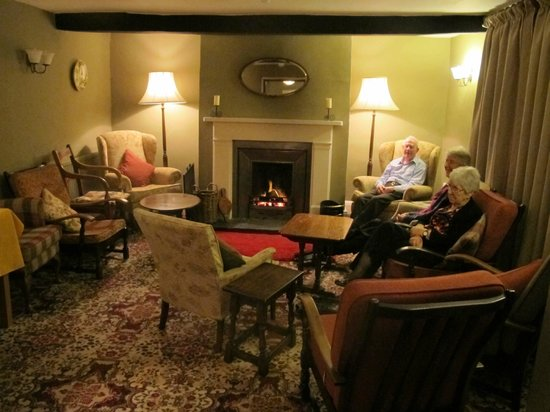 Borrowdale, UK: Front Lounge