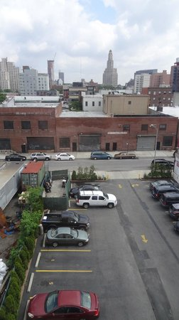 Holiday Inn Express Brooklyn: View from room 603