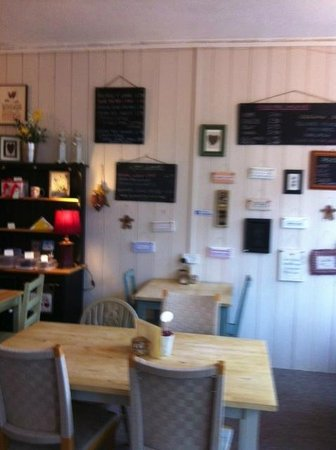 Bude, UK: Interior Buttonwood Coffee Shop