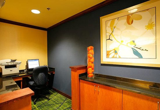 Fairfield Inn & Suites Melbourne Palm Bay/Viera: Business Center