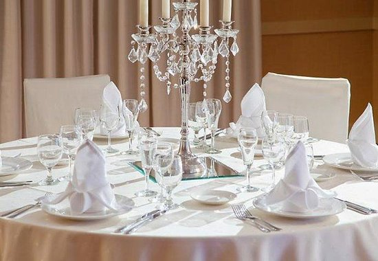Fredericksburg, VA: Mary Washington Room – Wedding Setup
