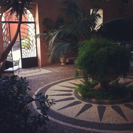 Casa Delfino Hotel & Spa: the foyer where you would have breakfast
