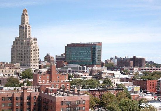 Fairfield Inn & Suites New York Brooklyn: Rooftop Lounge View