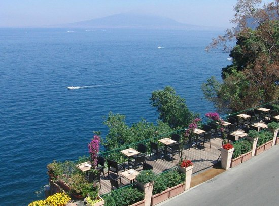 Hotel Villa Garden: Bar Paravisiello and Vesuvio