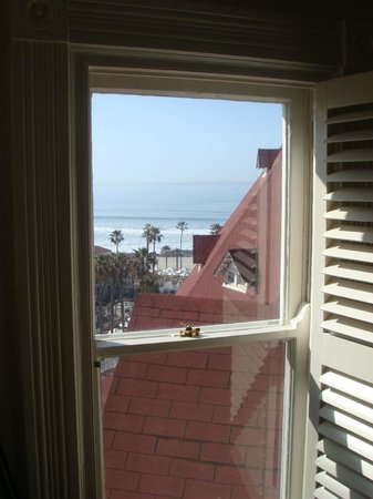 Hotel del Coronado: View from one window of room 3508