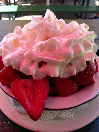 Ojai, CA: Strawberry Shortcake