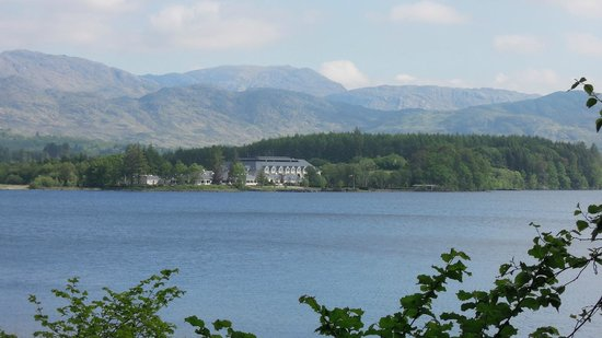 View of Harvey's Point from Lough Eske shore