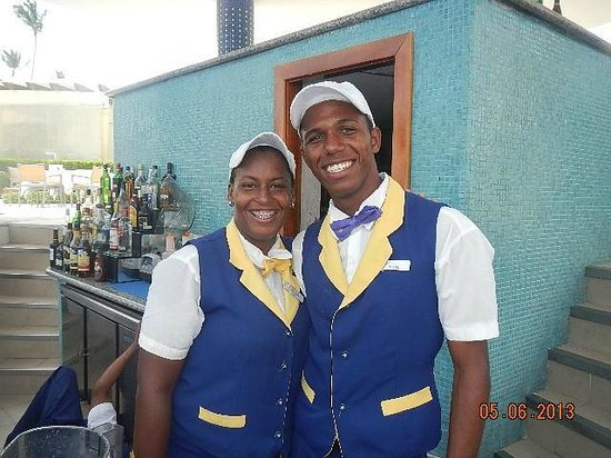 Iberostar Grand Bavaro Hotel: Rosy and Misael. All the Staff is friendly and work hard all day