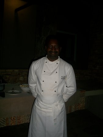 Auas Game Lodge: Compliments to the Chef