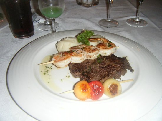 Grand Bahia Principe Jamaica: don pablo beef and shrimp