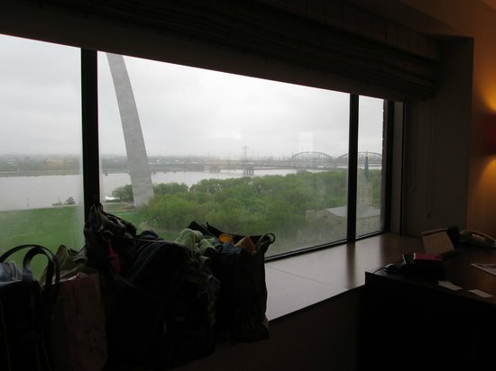 Hyatt Regency St. Louis at The Arch : Love the View