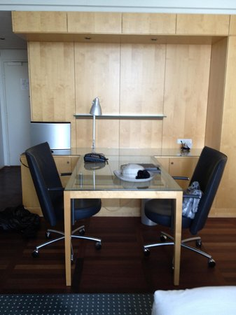 Hilton Copenhagen Airport: Double work station (executive room)