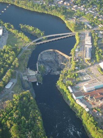 Hudson River, the South Glens Falls/ Hudson Falls Bridge