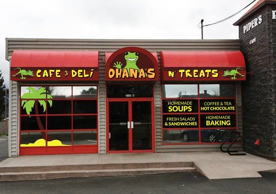 Nanaimo, Canada: Ohana's Cafe (signage yet to be installed)