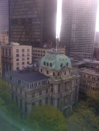 Omni Parker House : View from hotel room