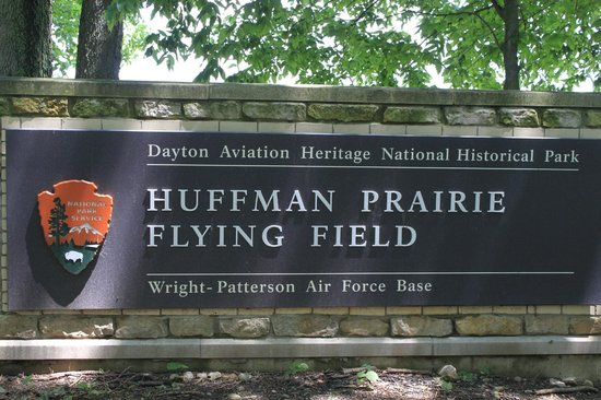 Fairborn, OH: Hoffman Prairie where the Wright Bros tested their planes