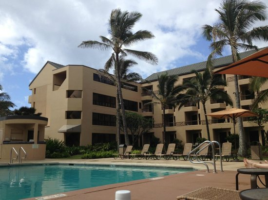 Courtyard by Marriott Kauai at Coconut Beach: from the Pool