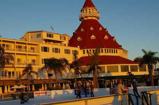 Hotel del Coronado: From the beach
