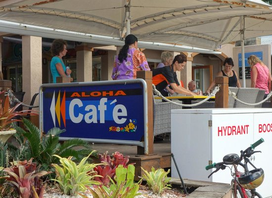Palm Cove, Australië: Aloha bar at breakfast time