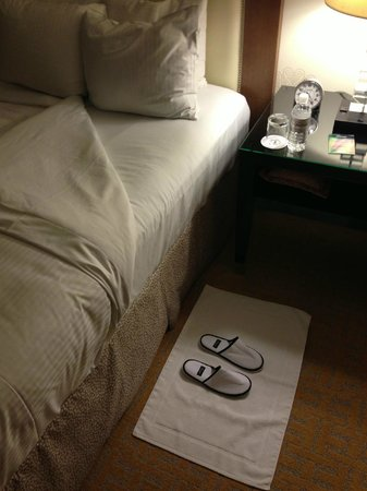 The Fairmont San Jose: Evening turn down service