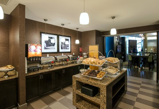 Hampton Inn & Suites Boston Crosstown Center: Every stay at this hotel near Boston Medical center offers free breakfast daily.