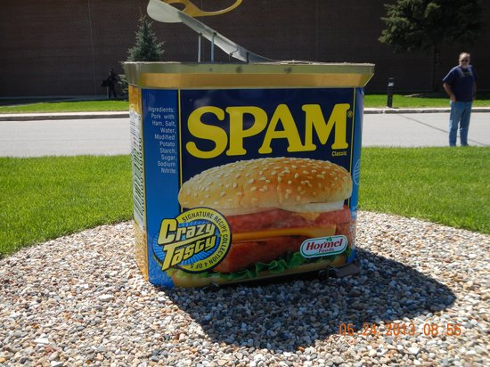 ‪‪Austin‬, ‪Minnesota‬: Spam!‬