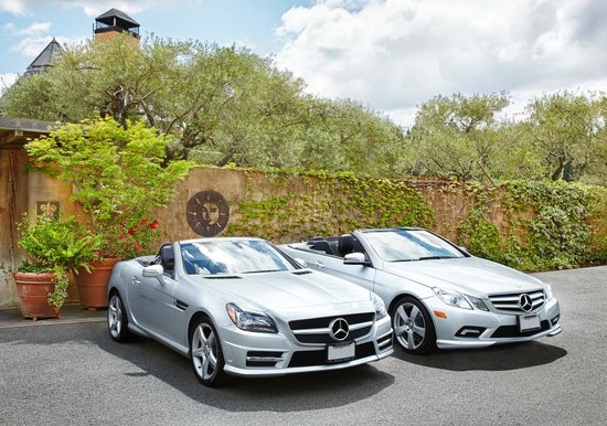Rutherford, Californie : Mercedes Benz Program