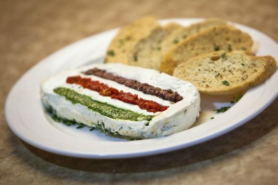 Harlingen, TX: Our Goat Cheese Terrine is our most requested appetizer