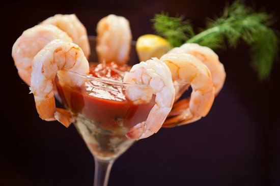 Harlingen, Техас: Colletti's Classic Shrimp Cocktail