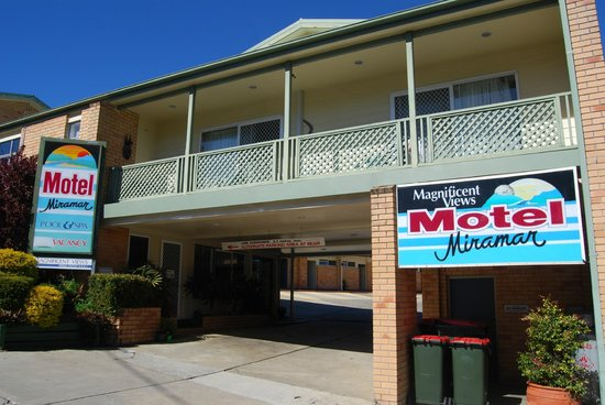 Nambucca Heads, Australien: Motel Entrance