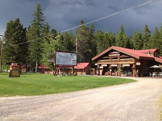 Hungry Horse, MT: The Shak @ The Historic Tamarack lodge!