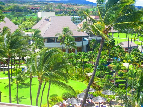 ‪‪Sheraton Maui Resort & Spa‬: View of the grounds from Building 5‬