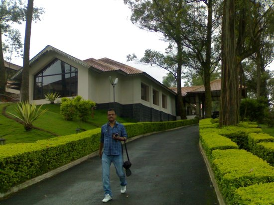 KTDC Tea County: Front view of the Resort