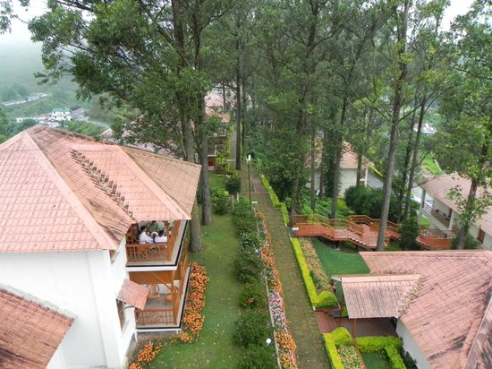 KTDC Tea County: Resort - View from Balcony