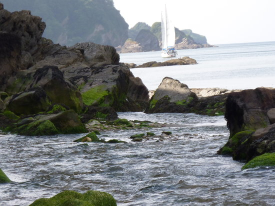 Combe Martin, UK: Sail away