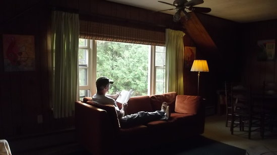 Washington Island, WI: Relaxing in the Loft Cottage