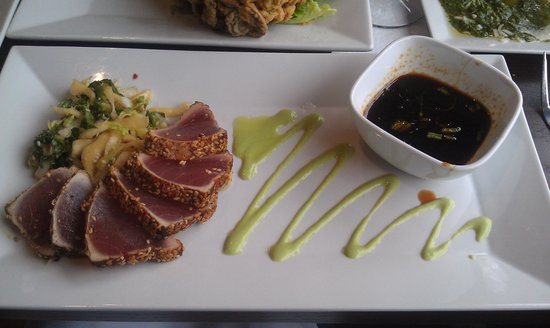 Laconia, NH: Sesame Crusted Tuna