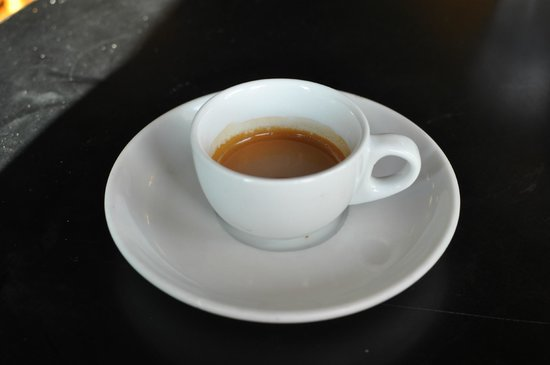 Somerville, MA: My very fine espresso at True Grounds