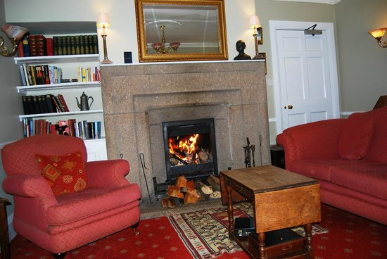 Garrack log fire picture of the garrack hotel st ives for 27 the terrace st ives reviews