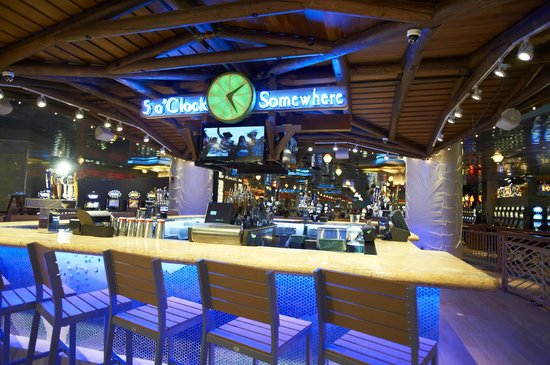 Resorts Casino Hotel: 5 o'Clock Somewhere Bar