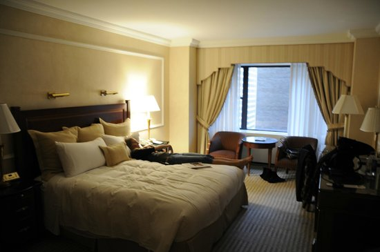 The New York Palace Hotel: Our King room