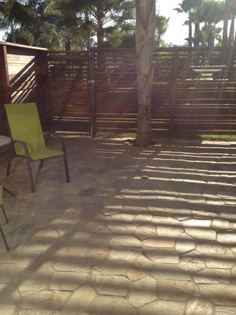 The Capri : My private outdoor patio